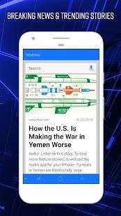 News Home - Breaking News & Custom Topic Launcher