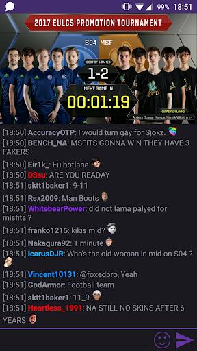 TChat - Live Streams & Chat - screenshot