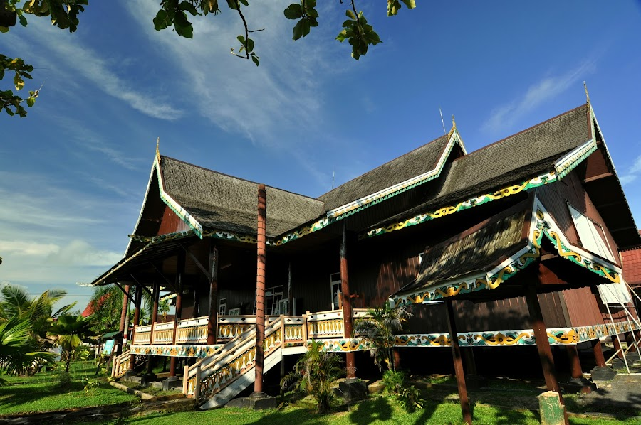 Huma Betang by Dwi Cipta - Buildings & Architecture Homes ( home, traditional, house, dayak, borneo )
