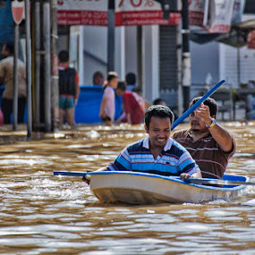 Effect of Flood by Charliemagne Unggay - News & Events World Events