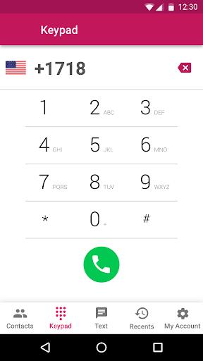 Free Call Recorder, Virtual Numbers, Int'l Calls screenshot 2