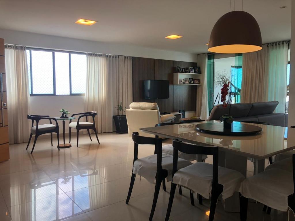 Apartamento com 4 dormitórios à venda, 215 m² por R$ 1.390.000 - Jardim Luna - João Pessoa/PB