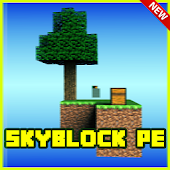 SkyBlock Pe Minecraft PE Map  for Android