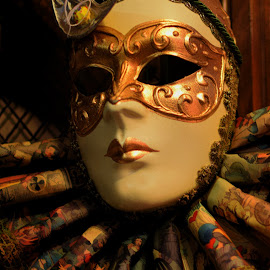 Masked Lady by Millieanne T - Artistic Objects Other Objects