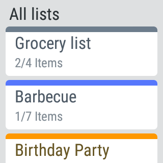 MyGrocery Screenshot 11