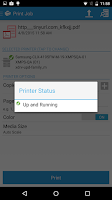 Screenshot of Xerox Print Portal