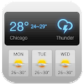 Dashboard Weather Forecast App APK for Bluestacks