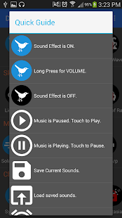 Relax Sound Maker - Lite - screenshot