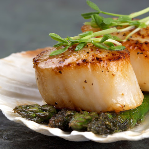 Easy Seared Scallops