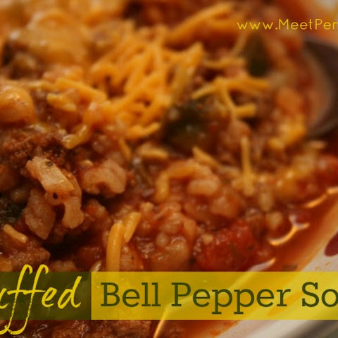 Recipe ~ Stuffed Pepper Soup