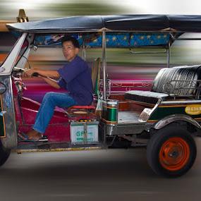 tuk tuk by Budi Risjadi - Transportation Other