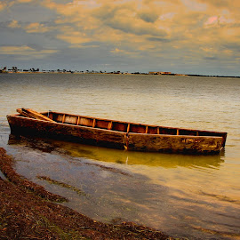 fancy boats  by Alex  Wolf - Landscapes Waterscapes ( clouds, alex wlf, wolfproduction.us, waterscape, florida, boats, ocean, coloerful )