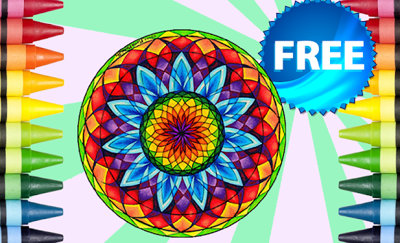 Coloring Book Mandala APK 101
