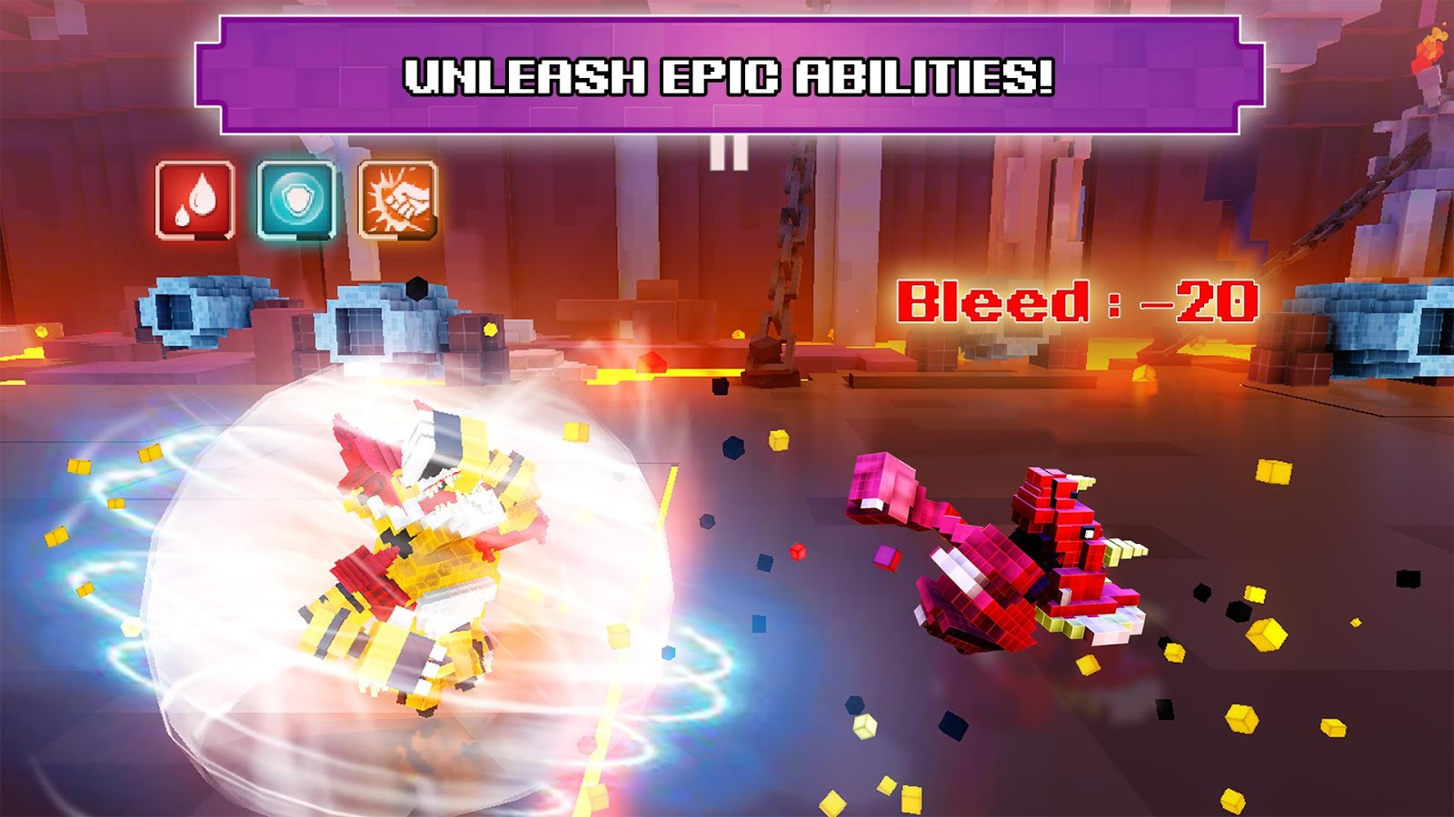 Super Pixel Heroes Screenshot 3