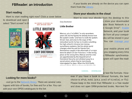 FBReader: Favorite Book Reader screenshot 9