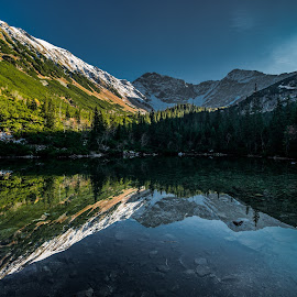 Tatliakovo lake // West Tatras by Laky Kucej - Landscapes Waterscapes (  )