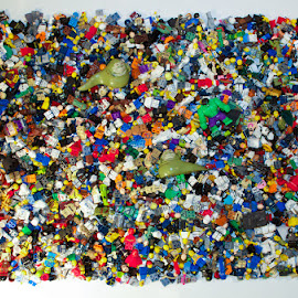 LEGO Mini-figures by Gerald Glaza - Artistic Objects Toys ( abstract, mini figures, building blocks, toys, lego )