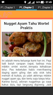 Resep Nugget - screenshot