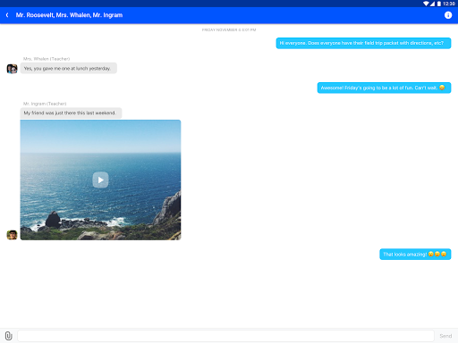 Edmodo screenshot 7