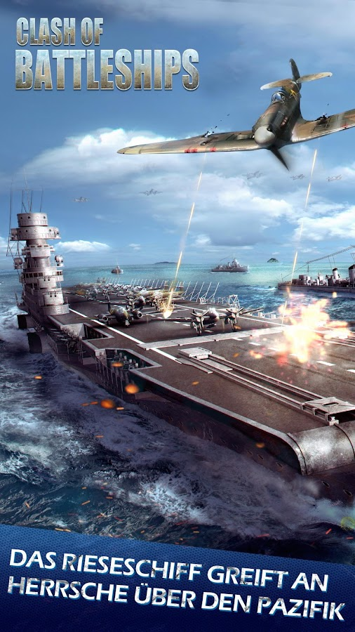 Clash of Battleships - Deutsch Screenshot 5