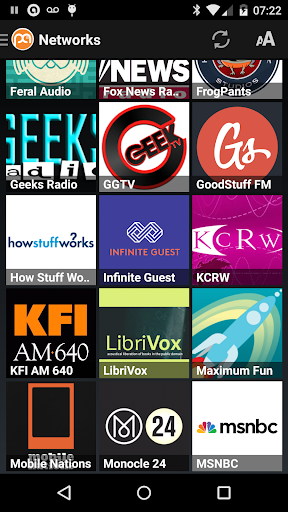 Podcast Addict (Android 2.3) screenshot 6