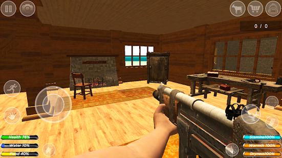 Survival Craft : Survivor House Building