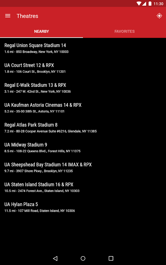 Regal Cinemas Android Apps On Google Play Movie Tickets Times Fandango
