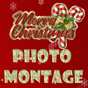 Merry Christmas Photo Montage