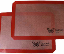 Cookswell twin pack Silicone baking mat