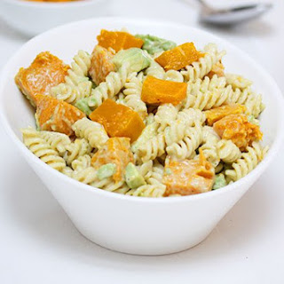 Pumpkin & Avocado Pasta Salad