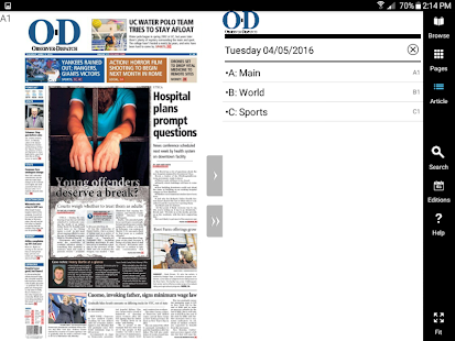 The Observer-Dispatch eEdition APK for Ubuntu