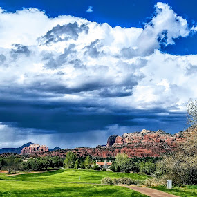 Beautiful moments  by Michael Pruitt - Landscapes Cloud Formations ( clouds, monsoon, arizona )