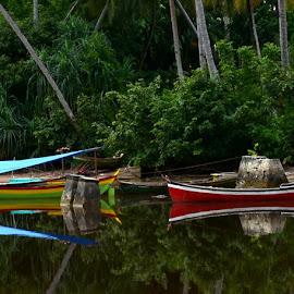 by Ya Ser Lubis - Transportation Boats