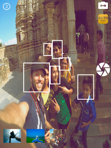 Auto Selfie Camera - screenshot
