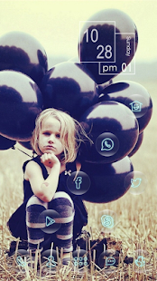 Take a balloon little girl the - screenshot