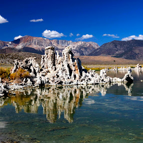 Mono lake, California by Gerard Pascazio - Landscapes Mountains & Hills (  )