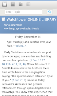 WATCHTOWER ONLINE LIBRARY - screenshot
