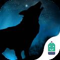 Free Howl Wolf Typany Theme APK for Windows 8