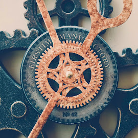 Geared up by Jess Bunger - Artistic Objects Antiques ( clock gears gear )