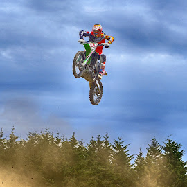 Dust In The Air ! by Marco Bertamé - Sports & Fitness Motorsports ( motocross, speed, clumpy, dust, air, high, race, noise, jump )