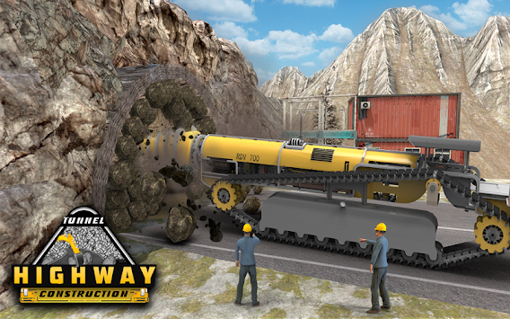 Highway Tunnel Construction & Cargo Simulator 2018 APK screenshot thumbnail 12