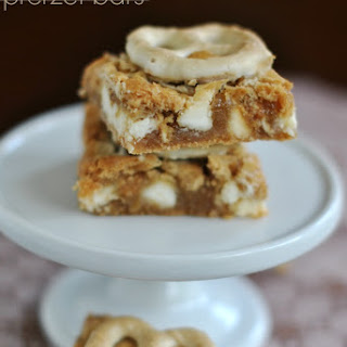 White Chocolate Pretzel Bars