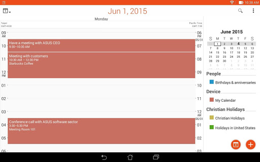 ASUS Calendar screenshot 14
