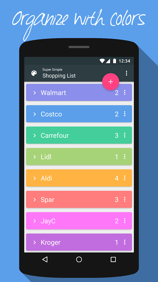Super Simple Shopping List Screenshot 1