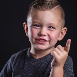 Tell em by Cameron  Cleland - Babies & Children Child Portraits ( sony, portrait, summer, kids )