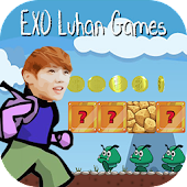 EXO Games Luhan Jungle Jump