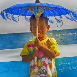 happy boy by Jeece Gallay - Babies & Children Child Portraits ( mandalay, myanmar, boy, kid )
