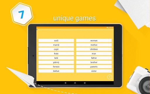 Learn Romanian 6,000 Words - screenshot