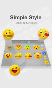 App TouchPal iOS 11 Simple Style Theme APK for Kindle