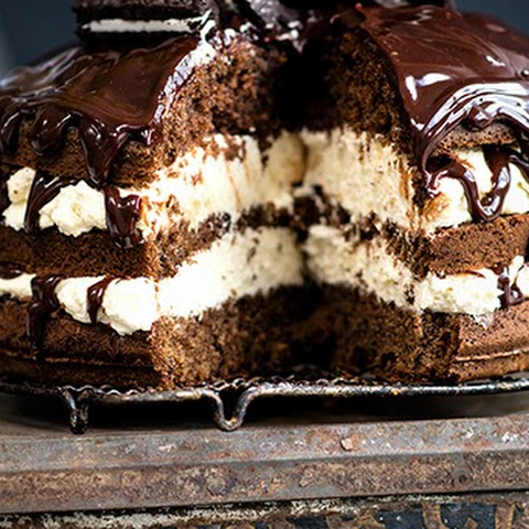 Cookies and Cream Layer Cake